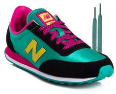 New Balance Women s 410 Shoes - Green Black Pink 36ad6fa49c15