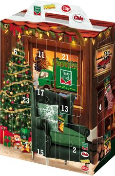 Intersnack Snack Adventskalender, 1er Pack (1 x 685 g): Amazon.de: Lebensmittel & Getränke