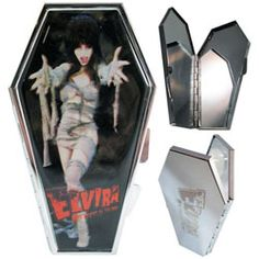 Kreepsville 666 Exclusive Elvira Mummy Koffin Kompact