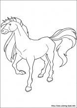 Horseland Coloring Pages Calypso Horseland Pinterest
