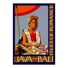 De Eilanden van Java & van Bali ~ van Romaanse Vin Plaat
