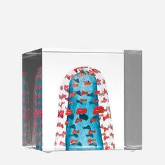 Oiva Toikka Iittala Annual glass cube 2011