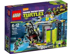 Escape From Lego Mutant Ninja Turtles Mutation Room Lego79119