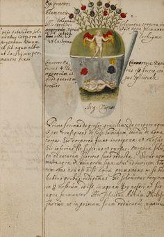 Johann Grasshoff. Alchemical Notebook. 1620