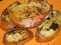 Cheese French Toast Recipe served at Cinderella's Royal Table in Magic Kingdom at Disney World