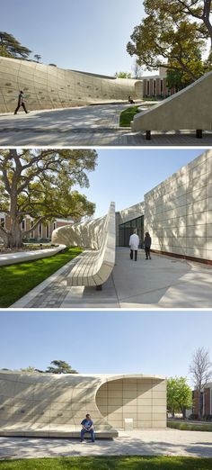 Belzberg Architects Have Designed A Serene Outdoor Sanctuary With Sculptural…