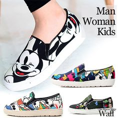 13df87dabb Waff  cute characters slip-on   slip-on shoes
