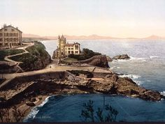 Biarritz, France. Mainly for surfing. Gotta remember this place. Oliver may agree to travel to Europe again.