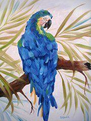 Sherry Winkler - Blue Macaw