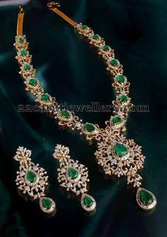 Jewellery Designs: Bridal Long Chain from Mangatrai