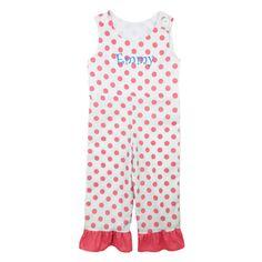 Laney Loops - Pink Polka Dot Romper, $29.99 (http://www.laneyloops.com/pink-polka-dot-romper/)