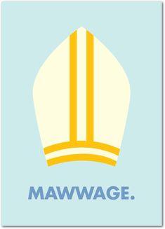 Mawwage wedding card.  True Wuv by Treat. Brilliant!