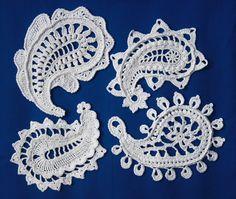 Paisley magic- crochet pattern. €6.00, via Etsy.