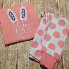 Your place to buy and sell all things handmade Easter Pajamas, Newborn Coming Home Outfit, Unique Baby Shower Gifts, Gift Coupons, Cool Baby Stuff, Monogram, Trending Outfits, Baby Goods, Creative