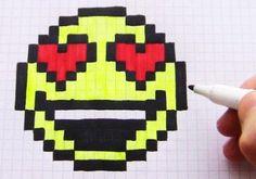 Как научиться рисовать по клеточкам. Простые и популярные рисунки по клеточкам для новичков. Рисуем в тетради с малышами, школьниками и взрослыми. Loom Beading, Beading Patterns, Pixel Drawing, Minecraft Pixel Art, Fair Isle Pattern, Plastic Canvas, Art School, Superhero Logos, Happy Halloween