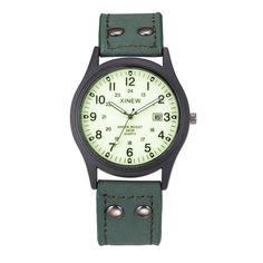Sale 20% (5.99$) - XINEW Men Calendar Quartz Watch Mens PU Leather Band Fashion Casual Clock Wristwatch
