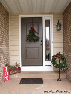 Christmas Front Porch Decorations ideas