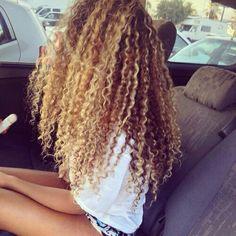 Shela hair Bundles with Lace Closure Mongolian Kinky Curly Human Hair Weave With Closure Long Curly Hair, Big Hair, Curly Hair Styles, Natural Hair Styles, Blonde Curly Weave, Deep Curly, Thick Hair, Straight Hair, Love Hair