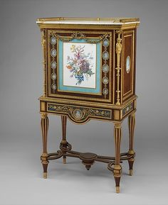 Cabinet attributed to Adam Weisweiler  Around 1787, French