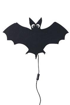Ellos Home Svart Vägglampa Batman