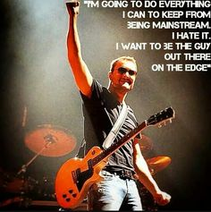 Eric Church out on the edge
