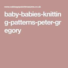 baby-babies-knitting-patterns-peter-gregory