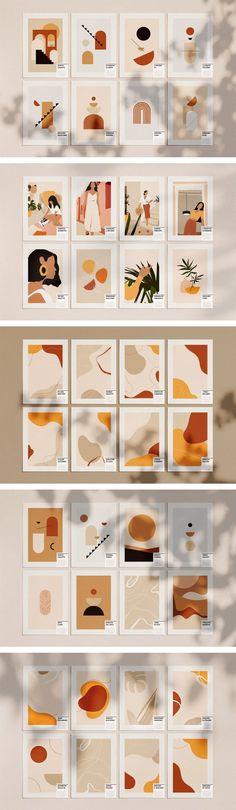 Well designed templates of abstract graphic shapes by William Hansen. Well designed templates of abstract graphic shapes by William Hansen. Small Canvas Art, Diy Canvas Art, Minimalist Art, Graphic Design Inspiration, Diy Art, Watercolor Art, Design Art, Vector Design, Logo Design