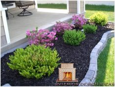 cool 40 Gorgeous Front Yard Landscaping Ideas on a Budget #easylandscapefrontyard