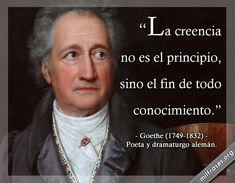 Goethe, poeta y dramaturgo alemán.