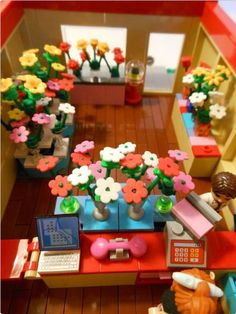 Felicia's Flowers | ReBrick | From LEGO Fan To LEGO Fan