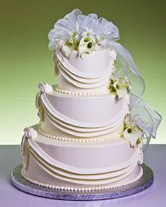 Contemporary Swag Cake
