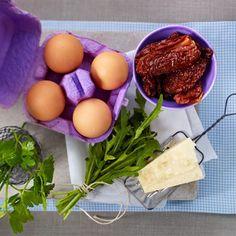 Omelett-Rezept mit Rucola - so geht's - omelett-rezept-zutaten  Rezept