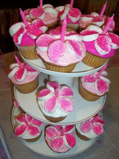 Barbie Party Cupcakes
