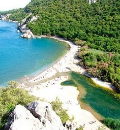 Olympos beach, Turkey  stayed in some tree houses here, fabulous!