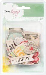 If you wish to buy please click on amazon under this Pinterest Pin. Dear Lizzy Neapolitan Printed Chipboard Shapes Embellishments (American Crafts) by American Crafts, http://www.amazon.com/gp/product/B0077SIN2U?ie=UTF8=213733=393177=B0077SIN2U=shr=abacusonlines-20&=arts-crafts=1359604693=1-99