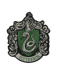 Harry Potter Slytherin Crest Iron-On Patch,