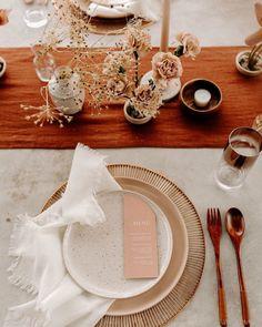 Event and Elopement Design ( Wedding Place Settings, Wedding Places, Palm Springs, Wedding Designs, Table Decorations, Creative, Home Decor, Videos, Photos