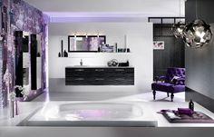 Want this Purple Bathroom