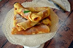 Francia palacsinta (bögrésen is) Crepes, Cake Recipes, French Toast, Cupcake, Muffin, Food And Drink, Sweets, Eat, Breakfast