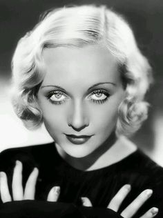 "Carole Lombard ""Those beautiful eyes)"