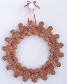 Gingerbread Wreath by cathleen