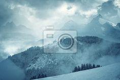 Berglandschaft - Fototapeten - myloview 173,-
