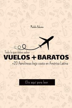 Aprende a encontrar vuelos baratos en américa latina #boletosbaratos #vuelosbaratos #ofertas #viajarbarato #barato #lowcost #bajocosto #ofertas #tiquetes #aerolineaslowcosto #mochila #mochilero #viajero #traveler