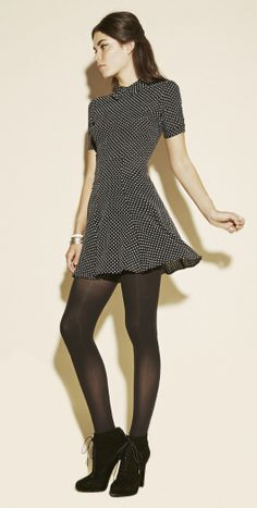 The Reformation - Calla Dress in dots (Longer, please.)