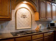 20 Gorgeous Backsplashes To Inspire You: Kitchen Backsplash Ideas: Tile Medallions