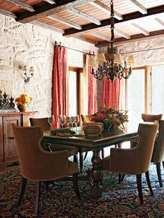 Whenever I think of the Tuscan style of decor, the Italian countryside comes to mind with its rolling mountains, rustic farmhouses, lemon t...