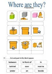 Englishlinx.com | Prepositions Worksheets | Englishlinx.com Board ...