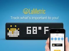 LaMetric - Customizable Smart Ticker for Life and Business