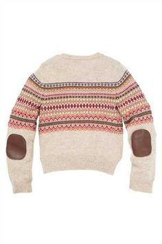 Add to her seasonal layers, stylish girls' knitwear featuring cosy jumpers and cardigans. Jumper, Men Sweater, Fair Isles, Fair Isle Knitting, Folk Costume, Celtic Knot, Stylish Girl, True Colors, My Wardrobe