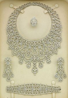 Selection...Collection...Mine...Diamond Parure by Elie Chatila